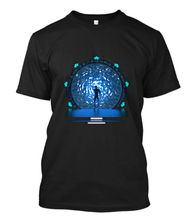 Stargate Portal Movie Sg-1 Atlantis Tv Serie Infinity Stargate 3D Print Men's Short Sleeve Tees High Quality T Shirt