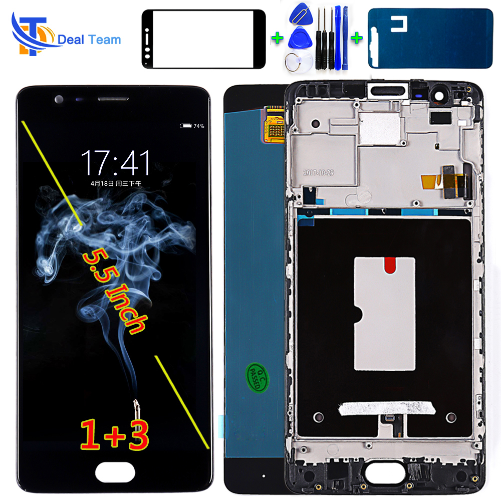 AAA Quality LCD Display For Oneplus 3 A3000 5 5 inch 1920 1080 Touch Screen Digitizer