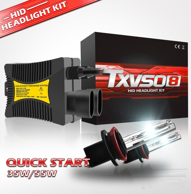 2 قطعة 12V 55W ضوء علوي زينون إتش آي دي تحويل عدة لمبات H1 H3 H4 H7 H11 9005 9006 880/881 3000K 4300K 6000K 8000K 10000K 12000K