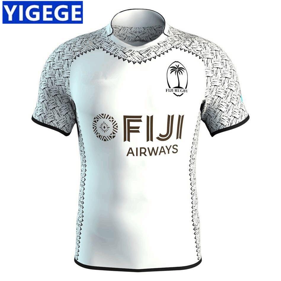 b8141886159 YIGEGE 2019 FIJI 2018 7'S HOME JERSEY TRAINING SINGLET Fiji rugby jerseys  2018 home away national