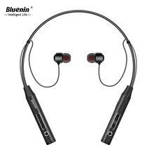Bluenin BBH-815 Sport Headphones Sweatproof Wireless Bluetooth Earphone 10 Hours Music aptX Stereo Headset with Mic