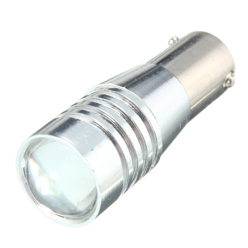 2pcs LED Auto Car Light Bulb BA9S H6W 150 Degree Canbus Error Free Wedge Side License Plate Reading Lamp Lights DC12V