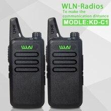 2017 новый запуск 2 шт. handy walkie talkie радио KD-C1 Uhf400-470mhz Двухстороннее Любительское Радио Communicator КВ Трансивер Любительского