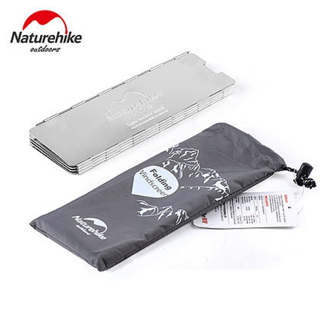Naturehike Camping Stove Windscreen Cooking Windshield Outdoor Cooking Accessories Windproof Folding Screen 1