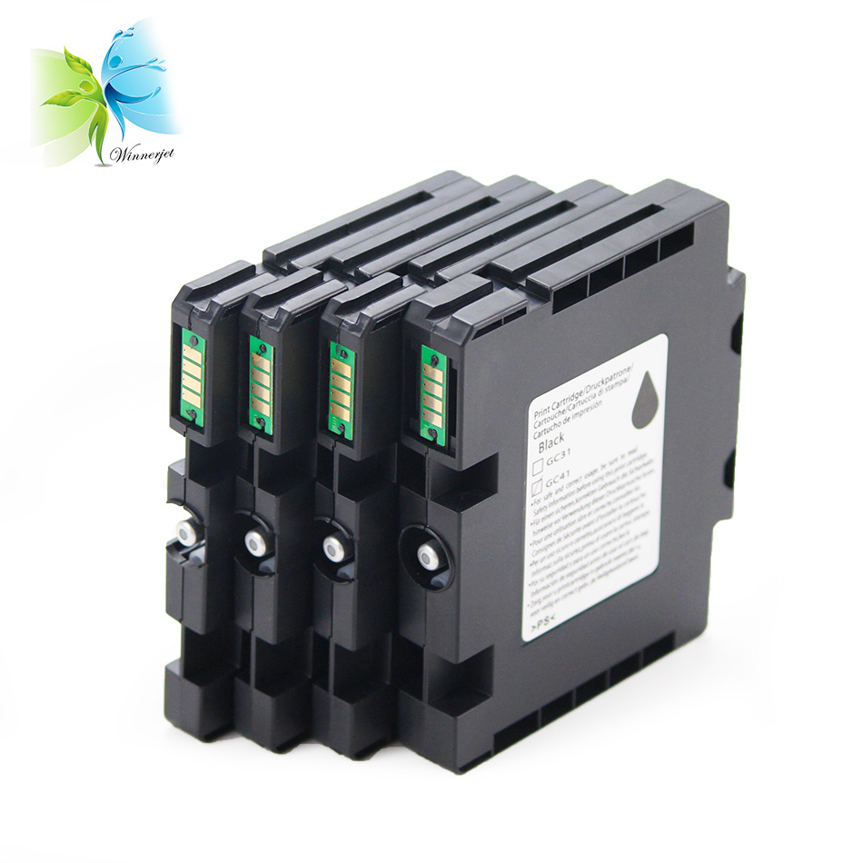 Winnerjet 2 sets GC41 for sublijet ink Cartridge For Ricoh SG 3110 3100SNW 3110DN 3110DNW 3110SFNW 3110SNW 7100 7100DN