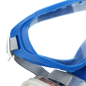 Image 5 - Gas Comprehensive Cover Paint Chemical Mask & Goggles Pesticide Dustproof Fire Escape  respirator carbon filter mask