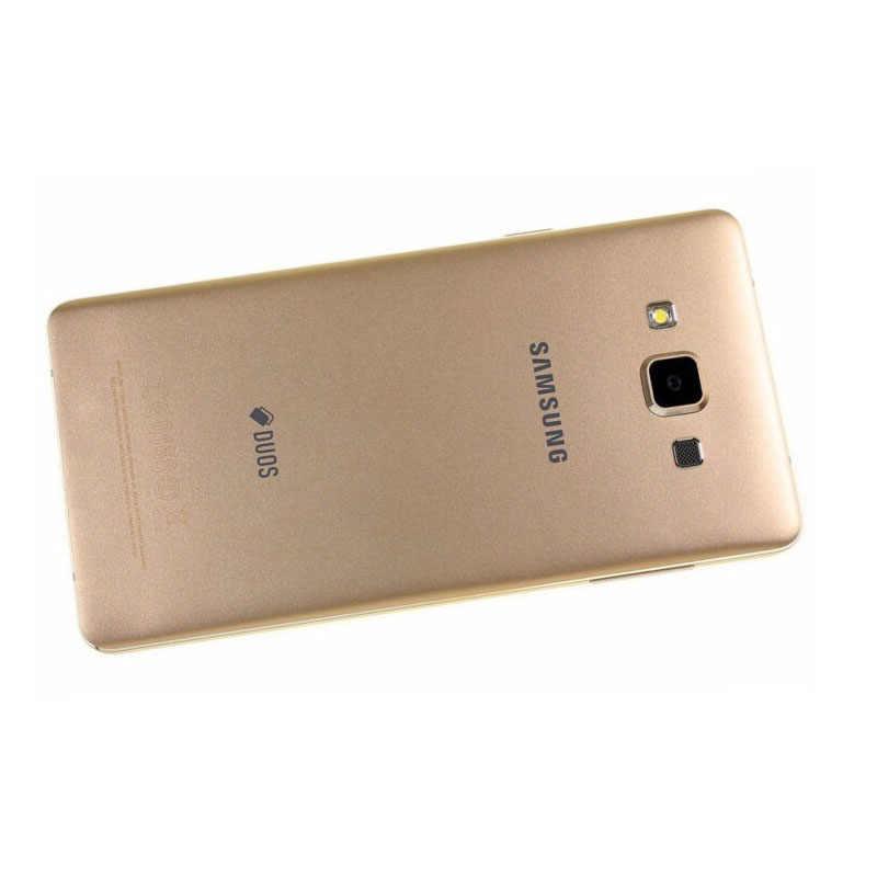 100% оригинал, samsung Galaxy A7 A7000, 4G LTE, мобильный телефон, четыре ядра, 1080 P, 5,5 дюймов, МП, 2 Гб ram, 16 ГБ rom, две sim-карты, смартфон