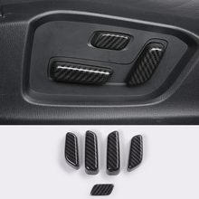car body cover protection bumper abs chrome trim rear back tail bottom around panel 1pcs for mazda cx 5 cx5 2nd gen 2017 2018 ABS Carbon fibre For Mazda CX-5 CX5 KF 2nd 2017 2018 Overlay Trim Accessories Interior Car Seat Adjustment Adjust Switch Cover