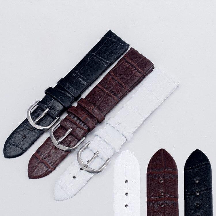 2020 Uhrenarmband 18mm 20mm Herren Damenarmbänder 20 neue 3-Farben-Uhrenarmband 18MM Relogio Correas Para Reloj Armband SH008