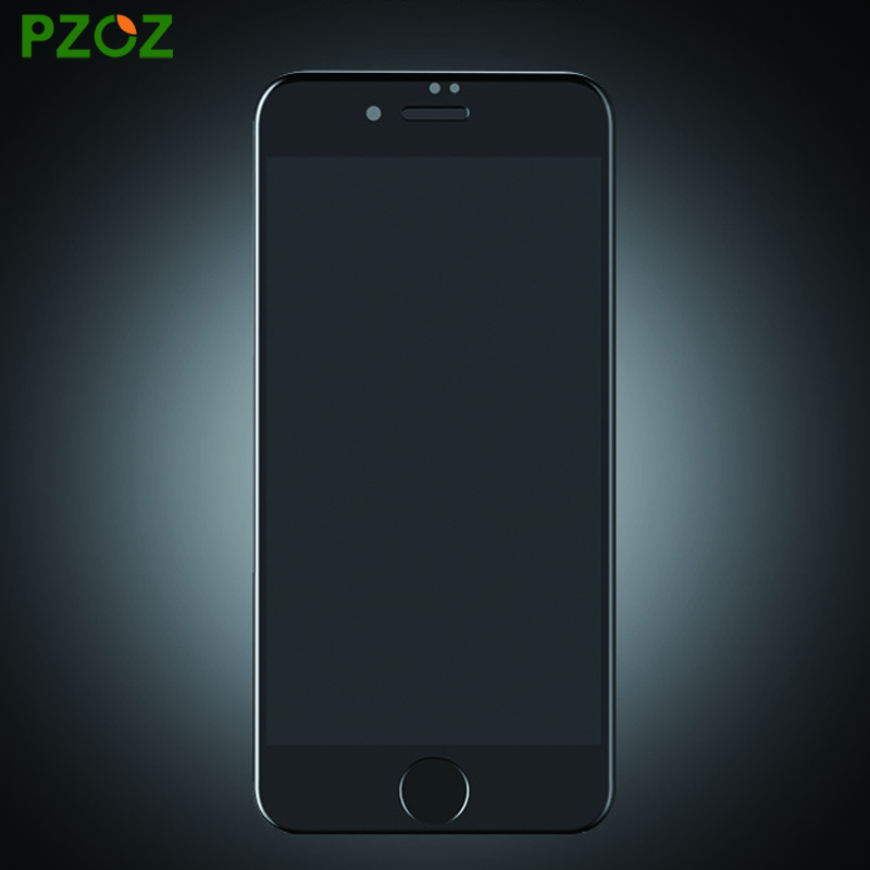 PZOZ For iphone 7 <font><b>Tempered</b></font> <font><b>Glass</b></font> Soft Edge Screen <font><b>Protector</b></font> <font><b>Film</b></font> 3D <font><b>Full</b></font> <font><b>Cover</b></font> Anti Blue Light For iphone 7 Plus 4.7 & 5.5