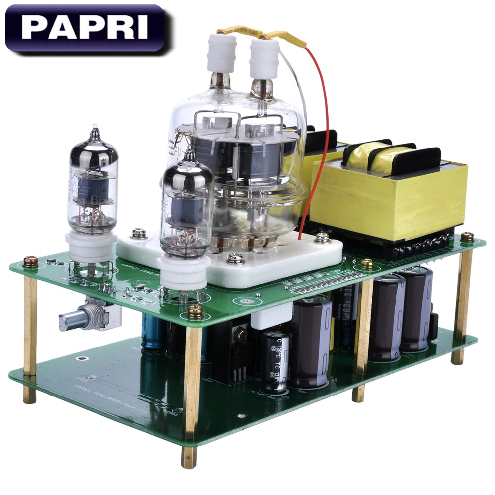 PAPRI APPJ Single End FU32+6J1 Tube Amplifier Kit DIY Board Class A Power Amp 2017 newest appj pa1601a desktop tube amplifiers smart wifi sd card player 6j1 6p4 headphone amplifier amp