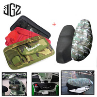Motorcycle Nylon Storage Bag Glove Bags With Seat Cover Universal For All VESPA Scooter Piaggio GTS GTV LX LXV Scarabeo Sprint