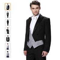 New Men Suits Fashion Design Suitable For The Groom S Suit Black Male Quality Plus Size