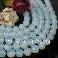 Hot Free shipping,wholesale and retail beautifulNew Charming!4mm Sri Lanka Moonstone Round Loose Beads 15''wj391