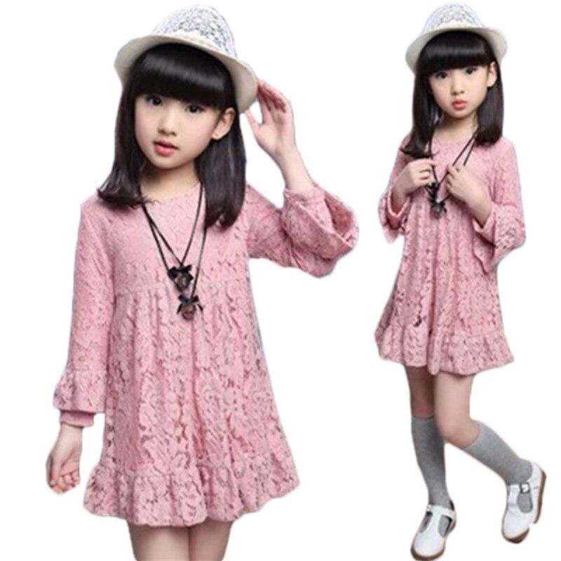 New Baby Girls Dress Lace Princess For Girl 3-12 Years Teenage Girls Princess Christmas Clothing Kids Children's Dress