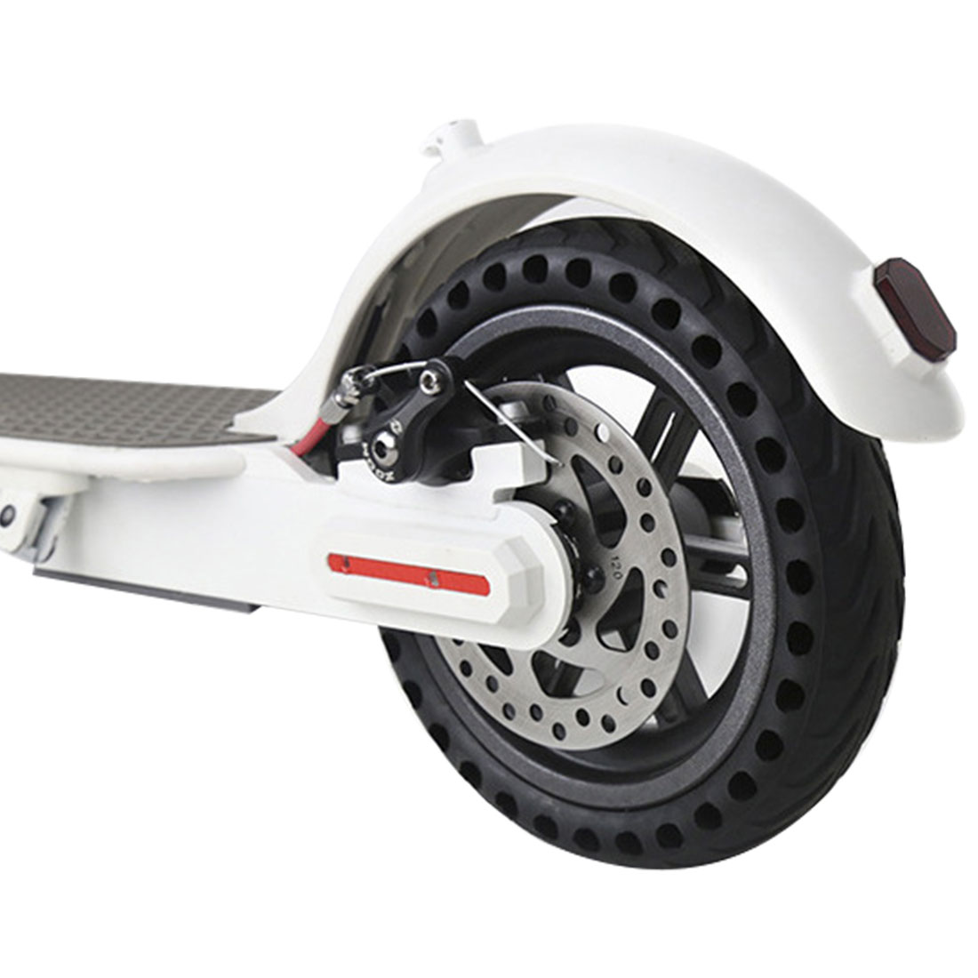 Durable Solid Hole Rubber Tires Shock Absorber Non Pneumatic Tyre Damping Tyres Wheels for Xiaomi Mijia M365 Scooter Skateboard