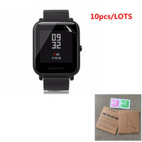10PCS For Xiaomi Huami Amazfit Bip BIT PACE Youth Lite SmartWatch Screen Protector Film Clear LCD Guard Shield Cover Skin