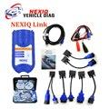 NEXIQ 125032 USB Link с пластиковый корпус и Программное Обеспечение Дизель грузовик Диагностический ИНСТРУМЕНТ NEXIQ USB Link с Все Адаптеры Бесплатно доставка