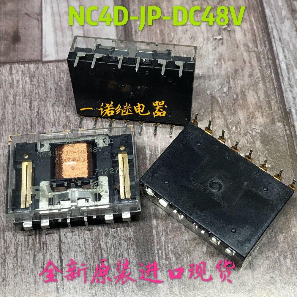 CHAUDE NOUVEAU relais NC4D-JP-DC48V AW884 NC4D-JP-48VDC DC48V 48VDC 48 V 16pinCHAUDE NOUVEAU relais NC4D-JP-DC48V AW884 NC4D-JP-48VDC DC48V 48VDC 48 V 16pin