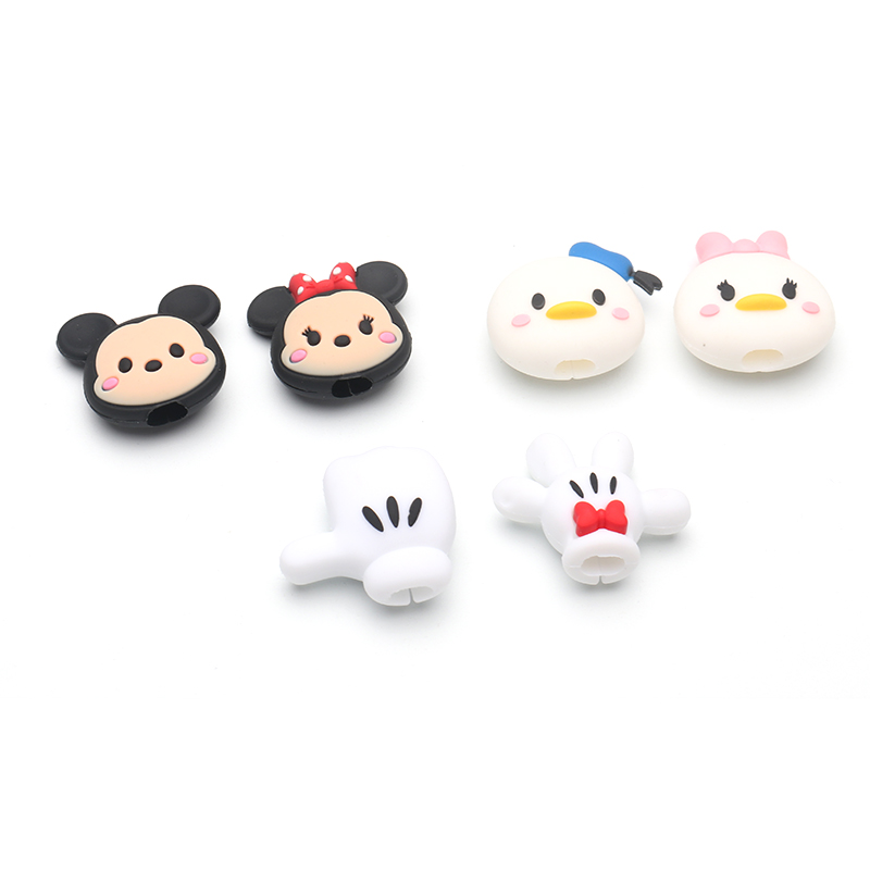 HTB1lZesXLfsK1RjSszbq6AqBXXa0 Cute Cartoon animel cable protector for iphone usb cable chompers holder charger wire organizer phone accessories dropshipping