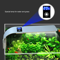 Fish Tank Light Clip LED Display Temperature Aquarium Water Grass Lamp Plant Led Turtle Lighting Sunsun Lights for Aquarium Ada