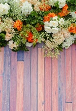 все цены на Laeacco Wooden Board Flowers Baby  Photographic Backgrounds Customized Photography Backdrops For Photo Studio онлайн