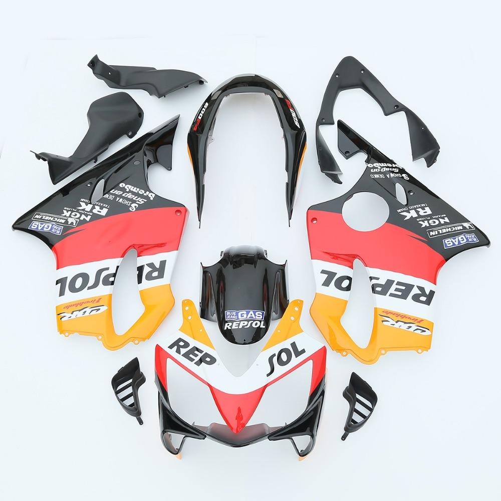 Repsol INJECTION ABS Fairing For Honda CBR600F4I CBR 600 F4I 2004 2007 05 06 3A