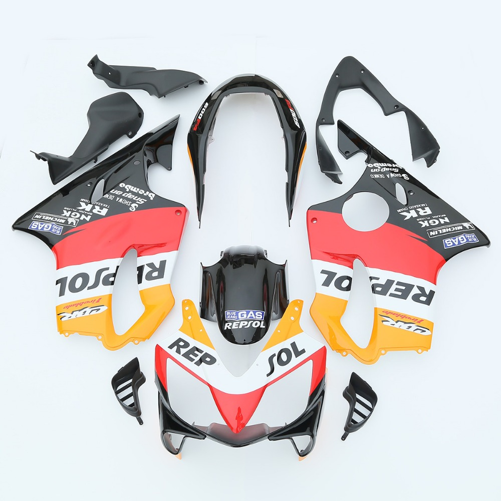 Repsol INJECTION ABS Fairing For Honda CBR600F4I CBR 600 F4I 2004-2007 05 06 3A купить