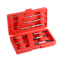 12pcs Screw Extractor Drill Bit Set Damaged Broken Bolt Remover Tool Center Drill Power Tools