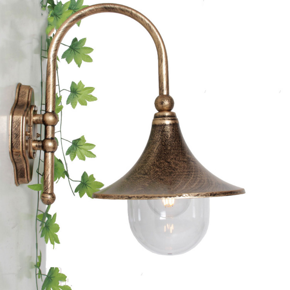 1pc Homestia Exterior Wall Lamp Exterior Lamp Wall Sconce