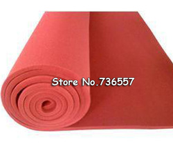 Free Shipping High Temperature Resistant Foaming Silicon Sheet Any Size You Choose,Thickness:8mm Heat Transfer Machine