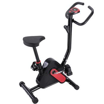 Cykl wewnętrzny ćwiczenia rower stacjonarny z monitorem LCD Cardio Fitness siłownia kolarstwo maszyna trening treningowy 265LB maksymalna waga tanie i dobre opinie SKUB46567