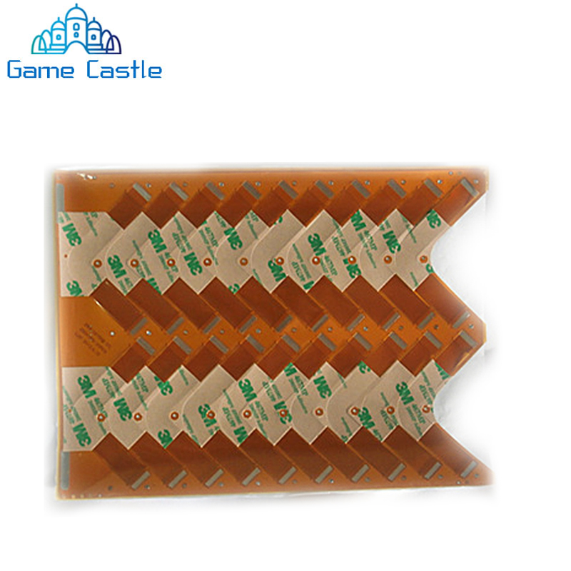 50pcs/lot Flex Flat Ribbon Cable Laser Lens Connection 79000 <font><b>90000</b></font> For Sony For <font><b>PS2</b></font>/Playstation 2 Slim Game Console Replacement image