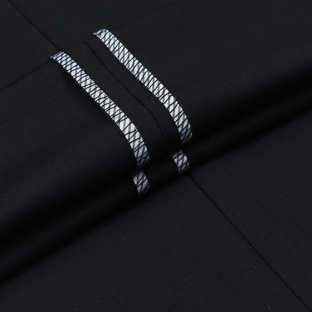 Anti Wrinkle Smooth Silk Suits Pants 4