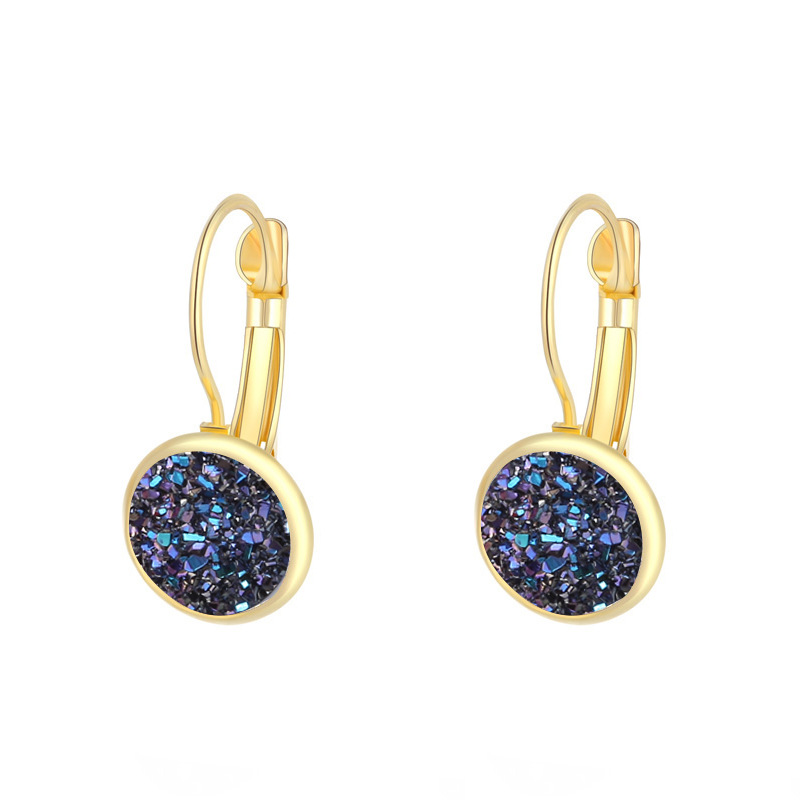 HTB1lZg7aKT2gK0jSZFvq6xnFXXa3 - ZHOUYANG Earrings For Women Handmade Multicolored Resin Clusters Romantic Imitation Stone Earrngs Jewelry KAE011