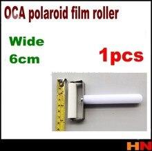 1 шт. 6 см для iphone для Samsung, роликовый патч-ролик для экрана, Перитонеальный полароидный ролик для пленки OCA, плоская шина