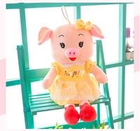 about 55cm creative toy skirt pig plush toy happy day pig soft doll birthday gift b1000