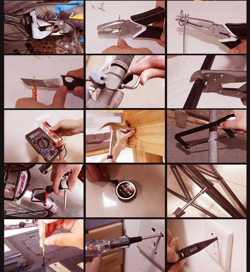 Оборудование для дома инструменты для технического обслуживания электроприборы Семейные многофункциональные автомобильные монтажные наборы электрические инструменты для электрики