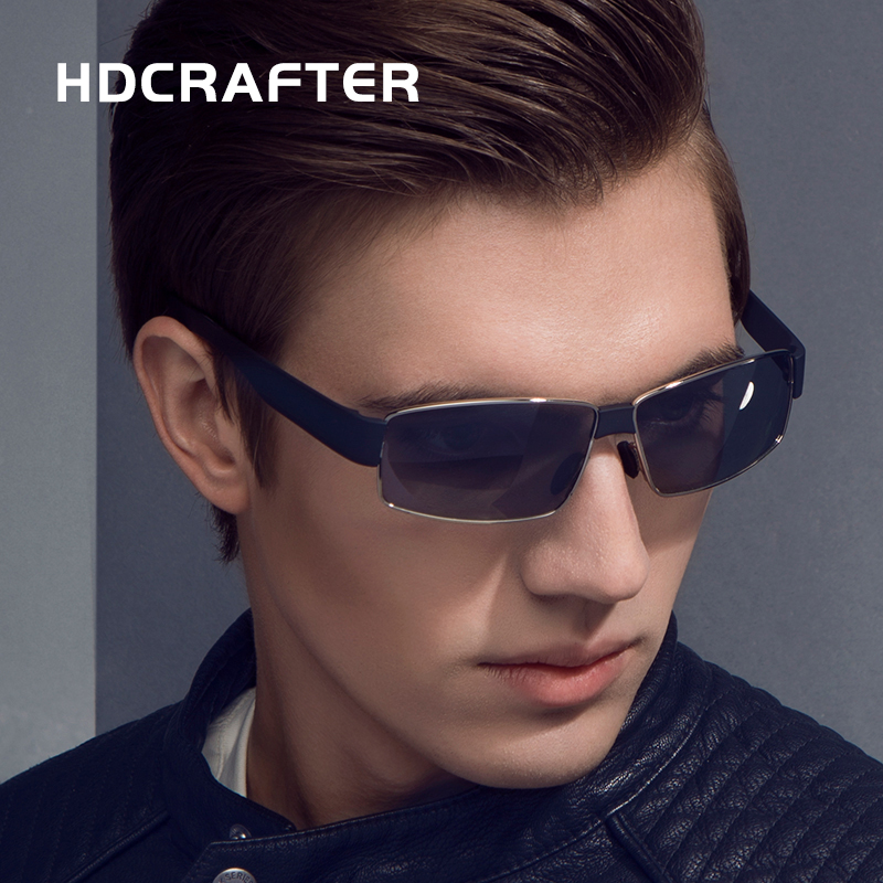 HDCRAFTER font b Fashion b font Cool Men s Sunglass High Quality oculos de sol masculino