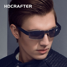 HDCRAFTER Fashion Cool Men's  Sunglass  High Quality oculos de sol masculino Polarized Driving  UV 400 Glasses for Men