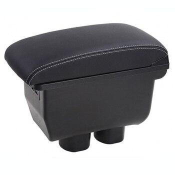 Untuk Nissan Tiida Sandaran Tangan Mobil Konsol Penyimpanan Kotak Pemegang Cangkir Asbak Aksesoris Bagian Dekorasi 2005-2014