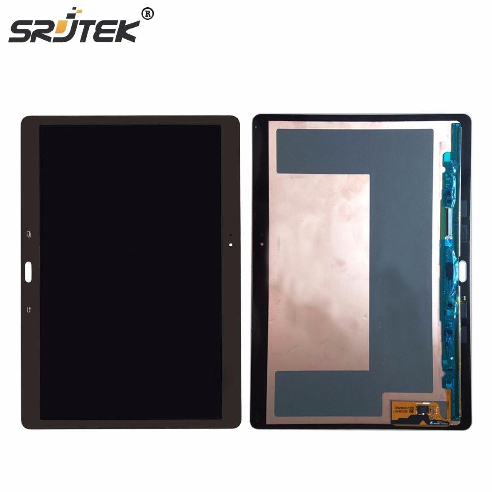 Srjtek 10.5 LCD Display Matrix Touch Screen Digitizer Sensor full assembly for Samsung Galaxy Tab S T800 T805 SM-T800 SM-T805 brand new lcd for samsung galaxy a3 a3000 a300 a300x a300f screen display with touch digitizer assembly