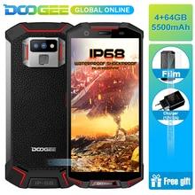 Hızlı kargo Yeni Yıl IP68 üzerinde DOOGEE S70 lite Su Geçirmez darbeye dayanıklı 5500 mAh 5.99 ''Octa Çekirdek 4 GB 64 GB Smartp...