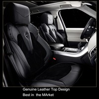 Luxury Classic Design genuine leather car seat covers for range rover Sport Velar Evoque New Discovery for benz bmw customized