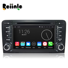 Beiinle Car 2 Din Android 4.4.4 QUAD CORE 1024*600 16G DVD GPS Radio Stereo Navigator for Audi A3 2003 – 2013 S3 2003 – 2011