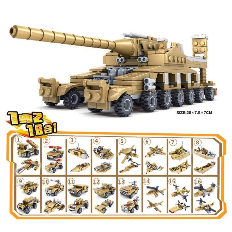 PüNktlich Militär Bausteine 544 Stücke Krieg Waffe Bewaffneten Tanks Modell Bricks Kompatibel Legoe Blöcke Spielzeug Für Kinder Jungen ZuverläSsige Leistung