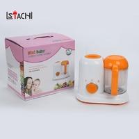 LSTACHi электрические Детские Еда Maker все в одном малыша блендеры пароход процессор BPA бесплатно Еда градуированных AC 200 250 В пара Еда безопасны
