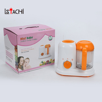 LSTACHi Electric Baby Food Maker All In One Toddler Blenders Steamer Processor BPA Free Food Graded AC 200 250V Steam Food Safe