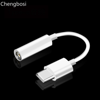 TYPE-C Audio Earphone Adapter TO 3.5MM Headphone USB-C Converter for Huawei P20 Mate 10 Pro AUX Jack Cable for Xiaomi Mi 8 6X 6