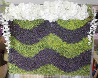 SPR 10pcs/lot Wedding Artificial Boxwood Hedges Panels GRASS wall Decorative Garden Grass Fencing Sythenic For Garden Decoration